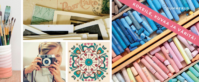 Krista Launonen - Paljastavat värit, hoitavat kuvat