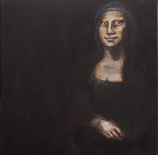 Mona Lisa (Leonardo da Vincin mukaan) 2019 - Krista Launonen