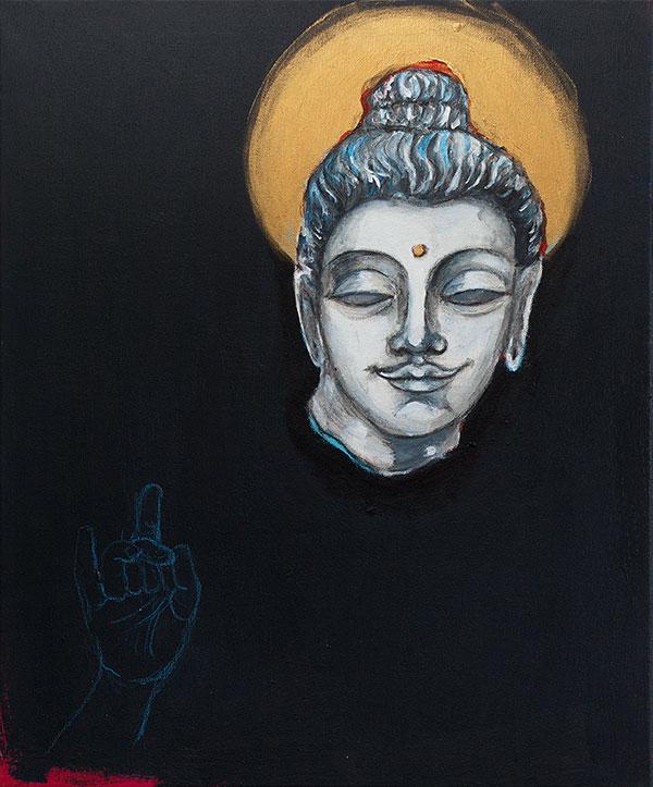 Buddhan pää, 2019 - Krista Launonen