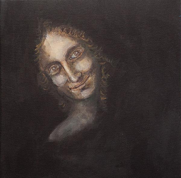 Lautturi (Johannes Kastaja Leonardo da Vincin mukaan) 2019 - Krista Launonen
